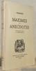 Maximes et anecdotes. Introduction et notes par Jean Mistler. Collection Grands et Petits Chefs-d'Oeuvre.. CHAMFORT.