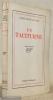 Un taciturne. Pièce en trois actes. Edition originale.. MARTIN DU GARD, Roger.