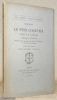 Le philosophe sans le savoir. Comédie en cinq actes. Publiée pour la première fois d'après le manuscrit de la Comédie-Française avec une préface par ...