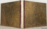 Voyage aquatico - historico - romantico - comico - comique dans le Nord Est. 1826.. TÖPFFER, Rodolphe.