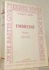 Emmeline. Roman traduit de l'anglais par Georges Globa. Collection Pierres Vives.. Bowen, Elisabeth.