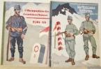 L'occupation des frontières suisses. Tome 1 et 2. I: Occupation des frontières suisses 1914-15. II: Un Hiver sous les armes 1914-15..