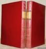 Le Diable boiteux avec une préface de H. Reynald. Gravures à l'eau-forte par Ad. Lalauze. Tome premier et tome second.. LE SAGE, A. R.