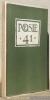 Poèsie 41, ancienne revue des Poètes-casqués. N.° 5, aout - septembre 1941..