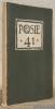 Poèsie 41, ancienne revue des Poètes-casqués. N.° 3, fevrier - mars 1941..