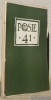 Poèsie 41. Poésie espagnol. N.° 6, octobre - novembre 1941..