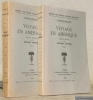 Voyage en Amérique. Edition critique par Richard Switzer. Tome I et tome II. Collection Société des Textes Français Modernes.. CHATEAUBRIAND.