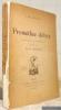 Prométhée délivré. Drame lyrique en quatre actes. Traduit par Tola Dorian.. Shelley, P.-B.