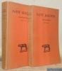 Confession. Tome I: Livres I - VIII. Texte établi et traduit par Pierre de Labriolle. Deuxième édition revue et corrigée. Tome II: Livres IX - XIII. ...
