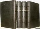 Les Trois Rome. Journal d'un voyage en Italie, accompagné 1° d'un plan de Rome ancienne et moderne ; 2° d'un plan de Rome souterraine ou des ...