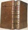 Oeuvres de Nicolas Boileau Despreaux. Nouvelle Edition, reveuë & de beaucoup augmentée. Tome premier et deuxième.. BOILEAU DESPREAUX.