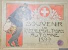 Souvenir du rassemblement de troupes, automne 1899..