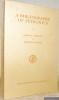 A Bibliography of Petronius. Mnemosyne Bibliotheca Classica Batava.. Schmeling, Gareth L. - Stuckey, Johanna H.