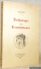 Anthologie des Troubadours.. ANGLADE, Joseph.