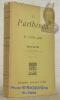 Le Parthénon et le génie grec. Sixième édtion.. BOUTMY, Emile.