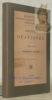 Aeschines Orationes. Iterum edidit Fridericus Franke. Biblioteca Scriptorum Graecorum et Romanorum Teubneriana.. AESCHINES.