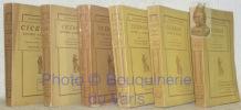 6 Titres. Collection Classiques Garniers. Traduction nouvelle avec préface et notes par Edouard Bailly. 1. Lettres Familières I. Livres I - VI. 2. ...