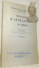 Bibliographie d'Apollonios de Rhodes. Bibliothèque des Universités du Midi fascicules XIX bis.. Delage, Emile.