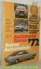 Automobil revue. Revue automobile. 1972..