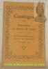 Catalogue. Exposition du peintre E. Curty organisée sous les auspices de la Société Fribourgeoise des Amis des Beaux-Arts, 12 - 16 juillet 1914..