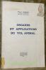 Organes et applications du vol animal.. AMANS, Paul.