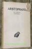 Les oiseaux. Lysistrata. Tome III. Texte établi par Victor Coulon et Traduit par Hilaire Van Daele. Collection des Universités de France, publiée sous ...