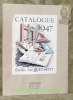 Editions Jacques-Petit. Catalogue des livres. Décembre 1946..