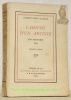 Cahiers d'un artiste, juin-novembre 1914.. BLANCHE, Jacues-Emile.