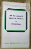 De la volonté dans la nature. Traduction avec introduction et notes par Edouard Sans. Collection Bilbiothèque de Philosophiqe Contemporaine, fondée ...