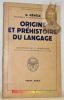 Origine et phéhistoire du langage. Traduction de L. Homburger. Collection Bibliothèque scientifiques.. Révész, G.