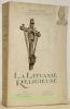 La Lituanie religieuse. 23 Planches hors texte et 2 cartes.. VISCONT, Antoine.