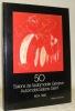 50 Salons de l'automobile Genève. Une grande rétrospective par l'affiche. 1924-1980.Automobil-Salons Genf. Eine grosse Plakat-Rückschau. 1924-1980..