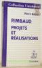 Rimbaud. Projets et réalisations. Collection Unichamp.. Brunel, Pierre.