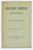 NAVIGATION AÉRIENNE PAR BALLONS. GOUTTES M.F.