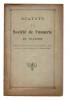 STATUTS DE LA SOCIÉTÉ DE VANNERIE DE VILLAINES établis par acte passé devant Me Auguste Lasseur, Notaire à Azay-le-Rideau, le 10 octobre 1907..