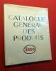 CATALOGUE GÉNÉRAL DES PRODUITS ESSO. ESSO Produits pétroliers