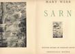 SARN. Préface de Jacques de LACRETELLE.. / DAVID Hermine /  -  WEBB (Mary).