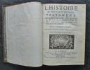 L'Histoire du vieux et du nouveau testament, représentés avec des Figures & des Explications édifiantes, tirées des saints Pères, pour régler les ...