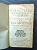 Les Caractères de Théophraste traduits du grec, avec les Caractères ou les mœurs de ce siècle.. LA BRUYERE (Jean de)