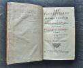 Les Provinciales ou lettres escrites par Louis de Montalte, à un Provincial de ses amis & aux RR.PP. Jésuites, sur la Morale & la Politique de ces ...