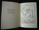 L'espace et la flûte. Variations sur douze dessins de PICASSO.. TARDIEU (Jean)
