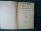 La langue et le style de George SAND dans les romans champêtres.. Louise VINCENT