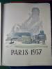 J.G. Daragnès, Pour la Ville de Paris, 14 juillet 1937, in-folio (35x27cm), en feuilles (22ff.-294pp.-6ff.n.ch.), couverture illustrée et imprimée en ...