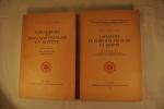Voyageurs et écrivains français en Egypte. Tome I et II: De la fin de la domination turque à l'inauguration du Cnanl de Suez (1840-1869).. CARRE ...