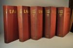 L'Art Vivant. 1925. 1926. 1927. 1928. 1929.. FELS (F.). GUENNE (J.). MARTIN DU GARD (M.).