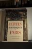 Hotels historiques de Paris, Aquarelles de Monique JORGENSEN.. TERRIER (Max). VAUDOYER (J.L.). LARGUIER (Léo). JORGENSEN (Monique).