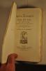 Les propos rustiques de Noel Du Fail. Texte original de 1547...avec introduction, éclaircissements et index par A. de La Borderie.. DU FAIL (Noel).