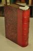 RECUEIL DE PLAQUETTES TOURISTIQUES  titré SOUVENIRS DE VOYAGES, reliées en un volume, in-12, demi chagrin rouge, dos à nerfs monogrammé CC adossés en ...
