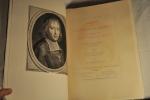 Catalogue des manuscrits de Bossuet de la collection Henri de Rothschild. Rédigé par Jean Porcher. Préface de Eugène Levesque. 14 planches ...