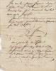 Lettre autographe signée adressée à Frédéric Fournier.. FOURIER (Charles).
